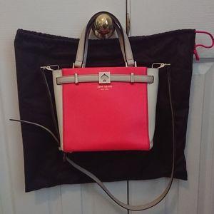 EUC Kate Spade Bright Coral Handbag